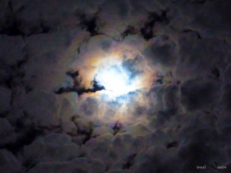 Bunter Nachthimmel