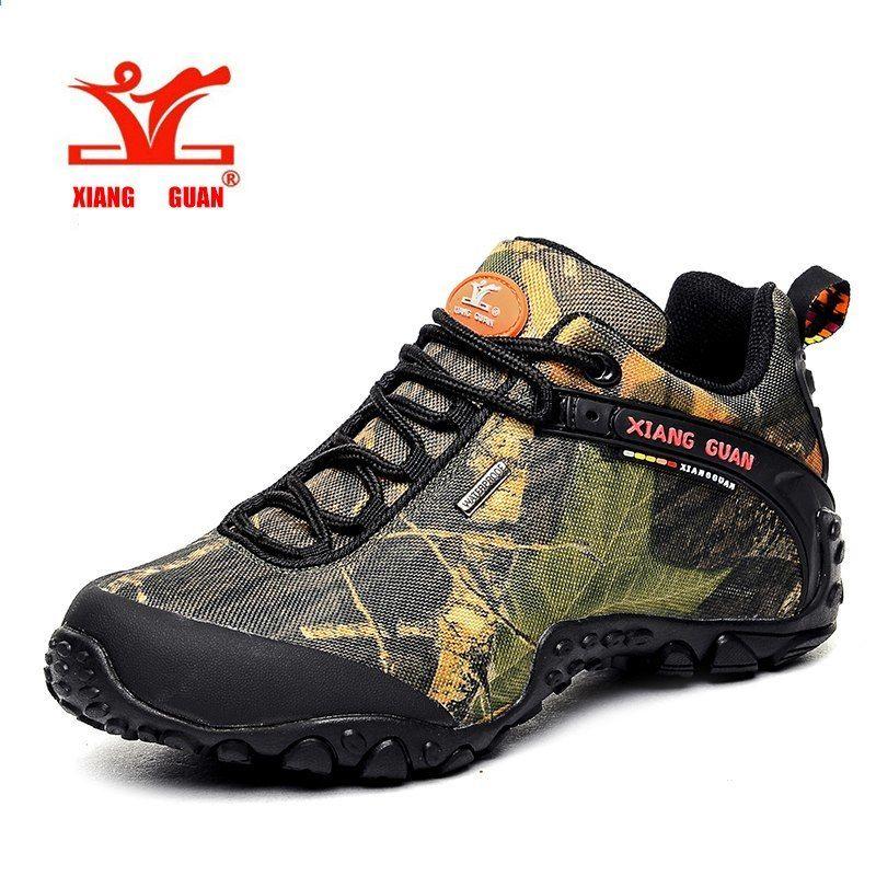 c6f63ad9bf1 XIANG GUAN Homens e Mulheres Sapatos de Caminhada À Prova D  Água Botas de  Trekking