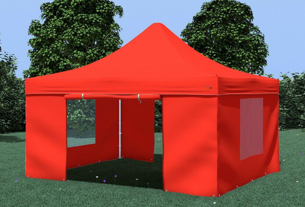 Ebay Sponsored Profi Plus Klapp Falt Pavillon 4x4m Wasserdicht