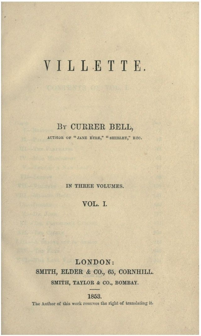 Villette is an 1853 novel by charlotte bront after an romance fandeluxe Gallery