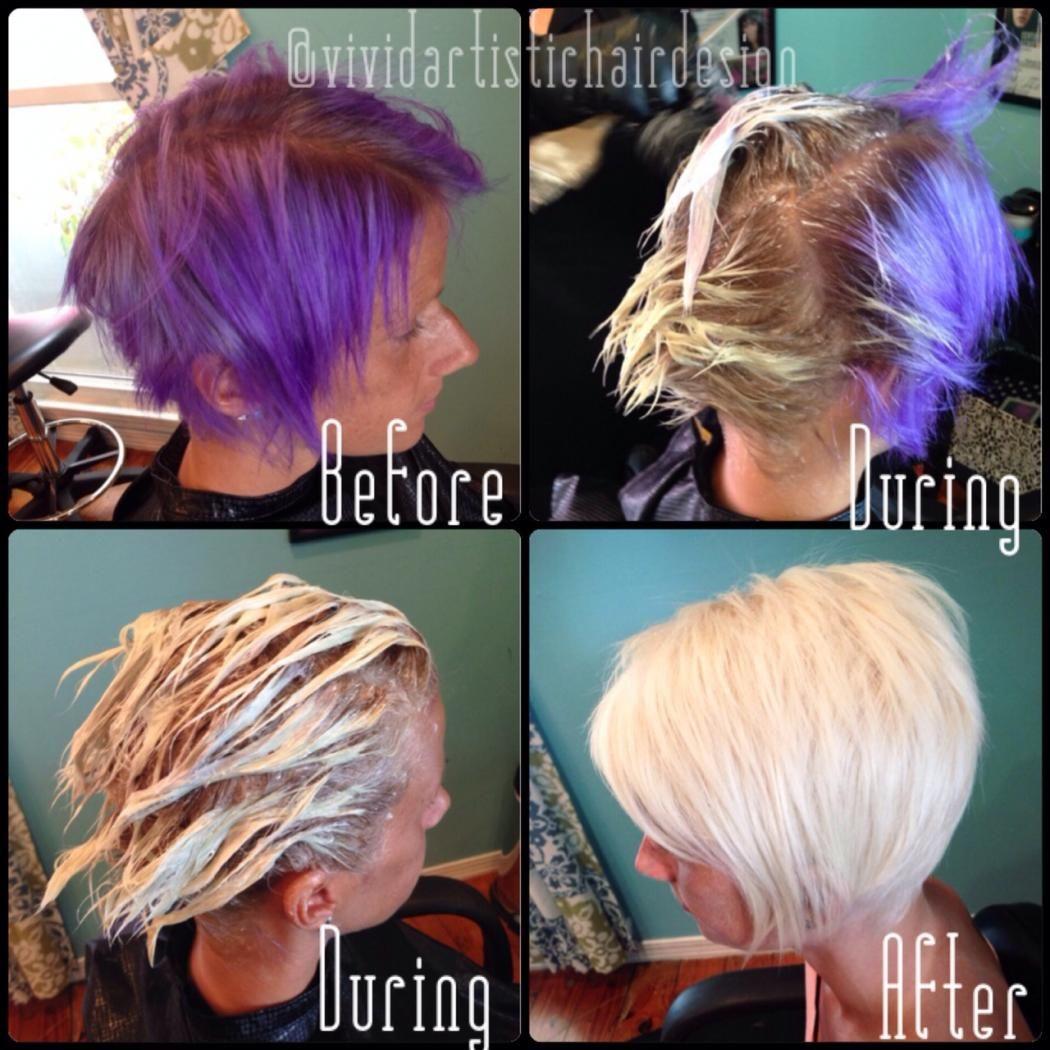 platinum hair | Modern Salon
