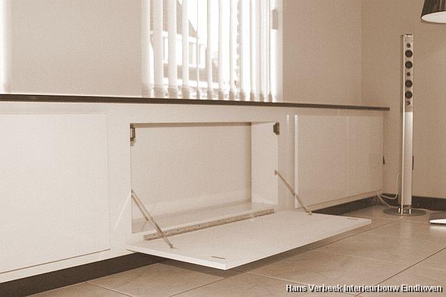 Kastruimte in radiatorombouw home diy pinterest for Vensterbank praxis