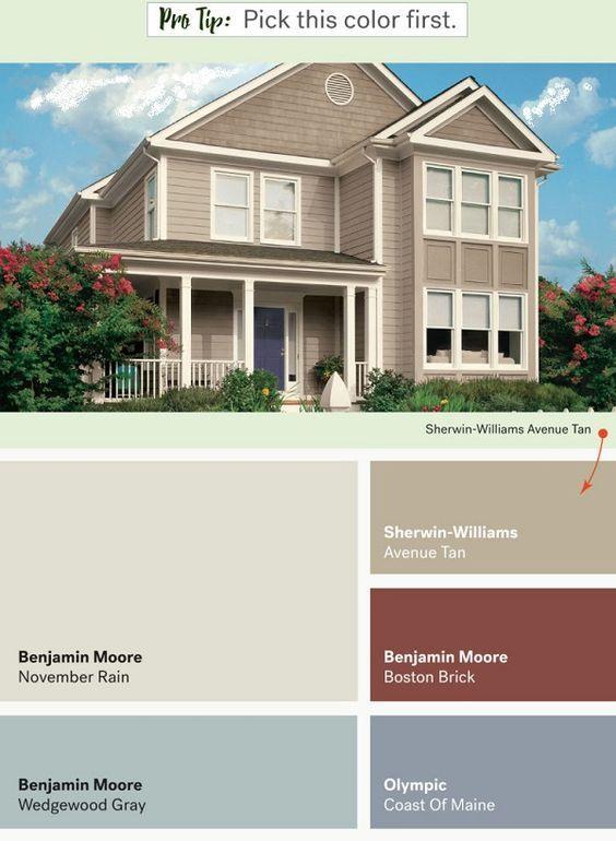 Best Exterior Colors for Siding | Exterior paint ideas | Pinterest ...