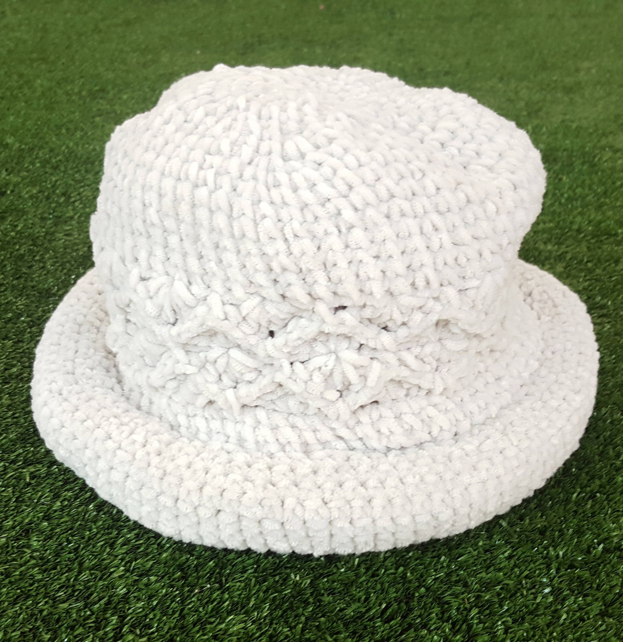 b006e04cb53 Vintage 90 s Grey Pattern Bucket Hat   Floppy Crocheted   Dad Hat   Festival  Gear   Vintage   Gray   by NEONPOINT on Etsy