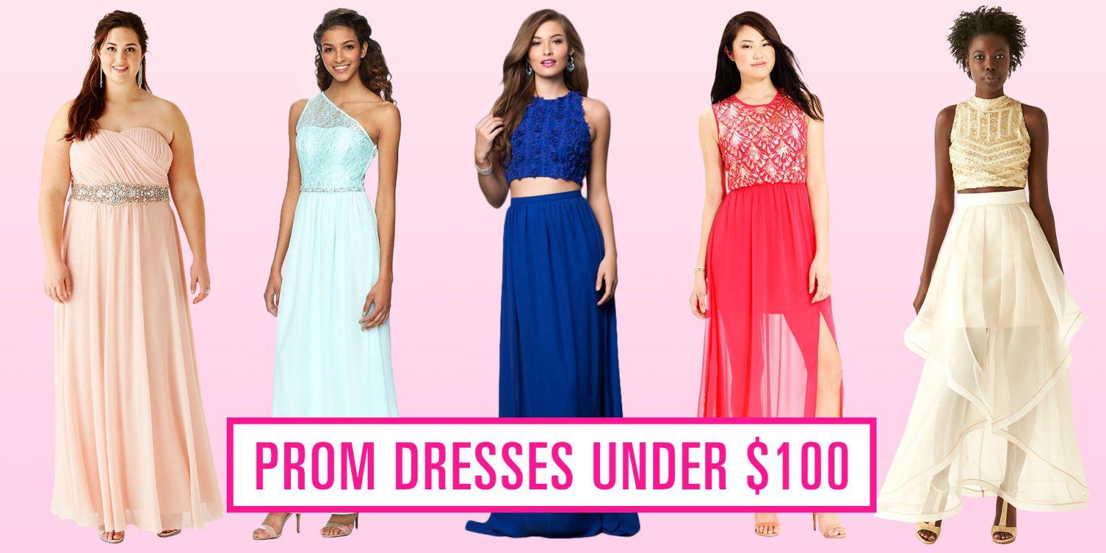 18 Gorgeous Prom Dresses Under $100   Gorgeous prom dresses, Prom ...