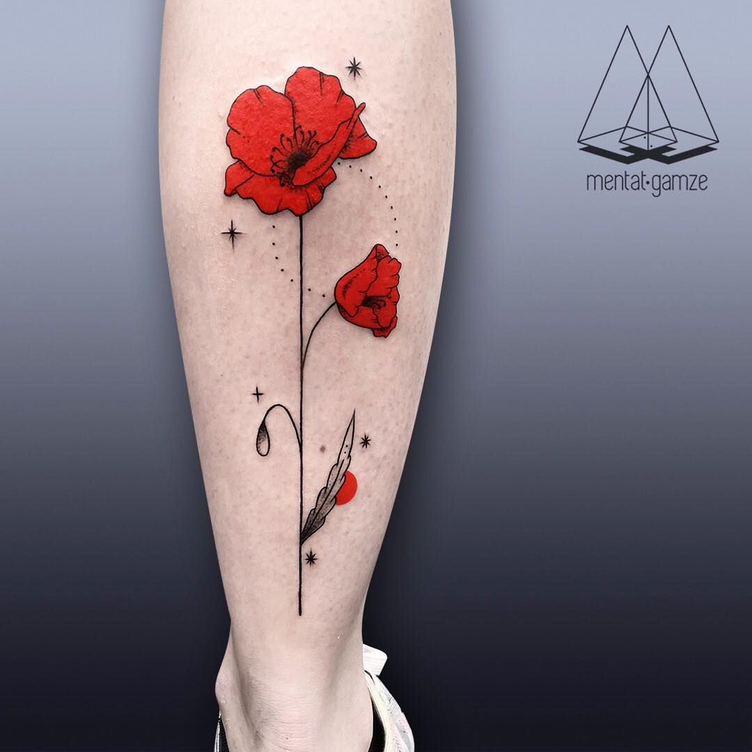 Red Dot As A Sign Of Hope In Mentat Gamzes Tattoos Pinterest