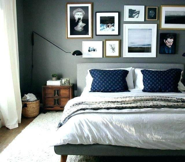 Wall Art For Bedroom Manly Man Ideas Masculine Decor Best Male And Covidia Blue Bedroom Walls Dark Blue Bedrooms Dark Blue Bedroom Walls