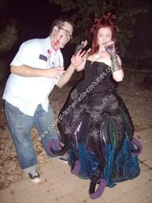 Coolest homemade ursula the sea witch halloween costume idea sea coolest homemade ursula the sea witch halloween costume idea solutioingenieria Images