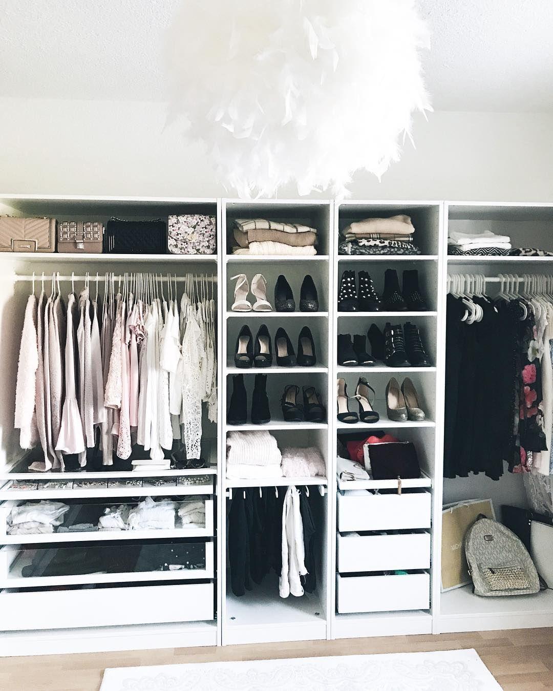 Instagram Mit Bildern Kleiderschrank Ankleide Zimmer Kleiner