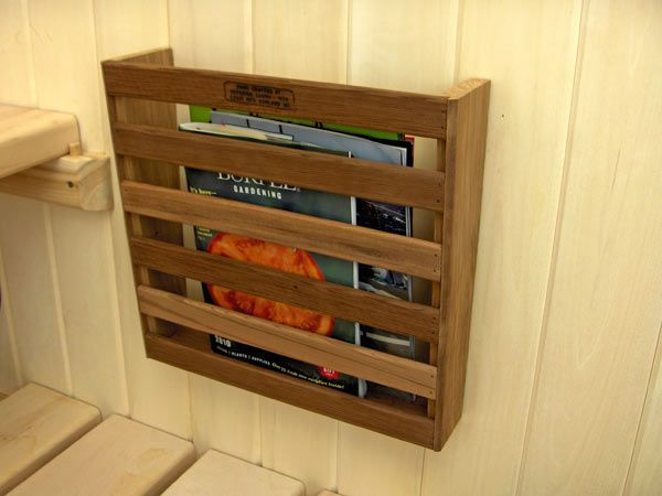 Red Cedar Magazine Rack Home Spa In 2019 Wood