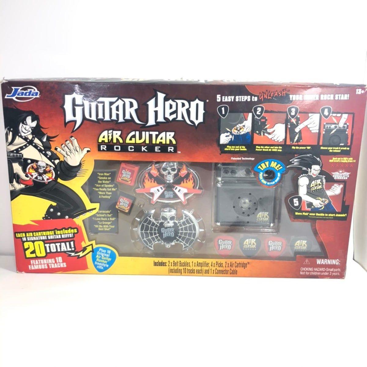 Guitar Hero Air Guitar Rocker Value Pack On Mercari Air Guitar Guitar Hero Rocker