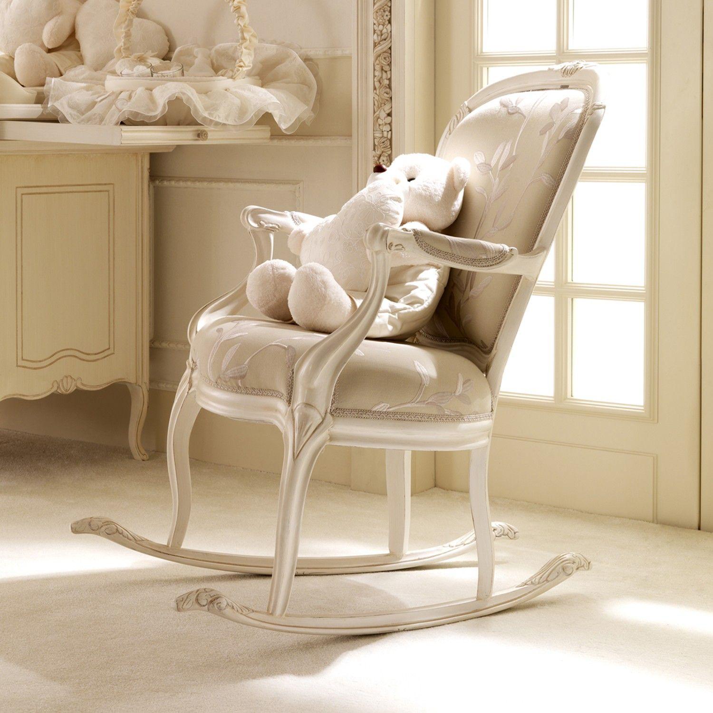Antique nursery rocking chair - Notte Fatata Sedia A Dondolo Crescere In Un Sogno Arredamento Per Camera Bambino Rocking Chair Nurseryrocking
