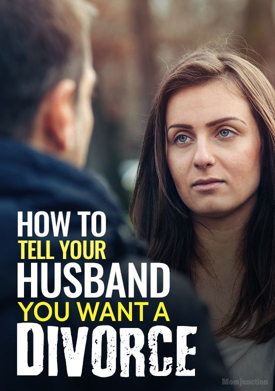 How To Tell Your Husband You Want A Divorce #divorce