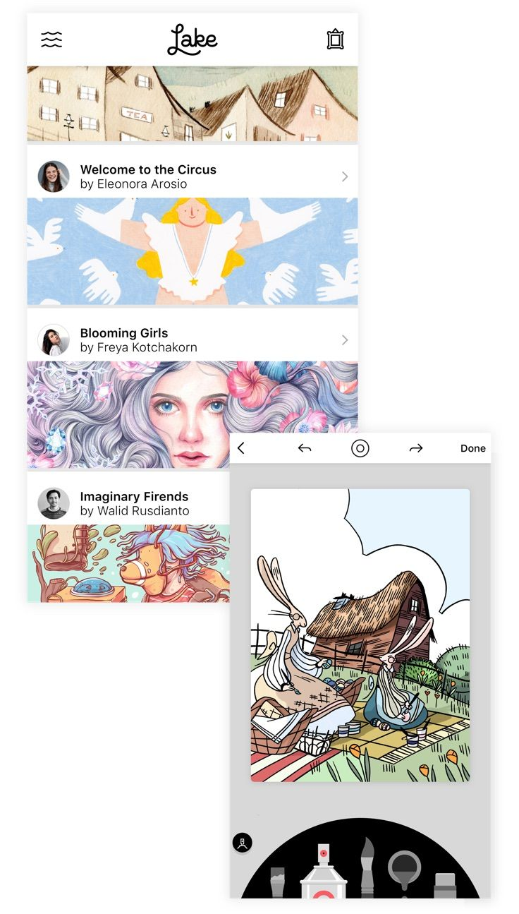 The Best Coloring App? It's a Draw. App Store Story