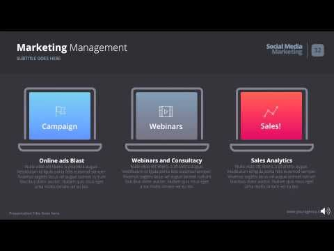 The Digital Agency - Powerpoint Template - YouTube