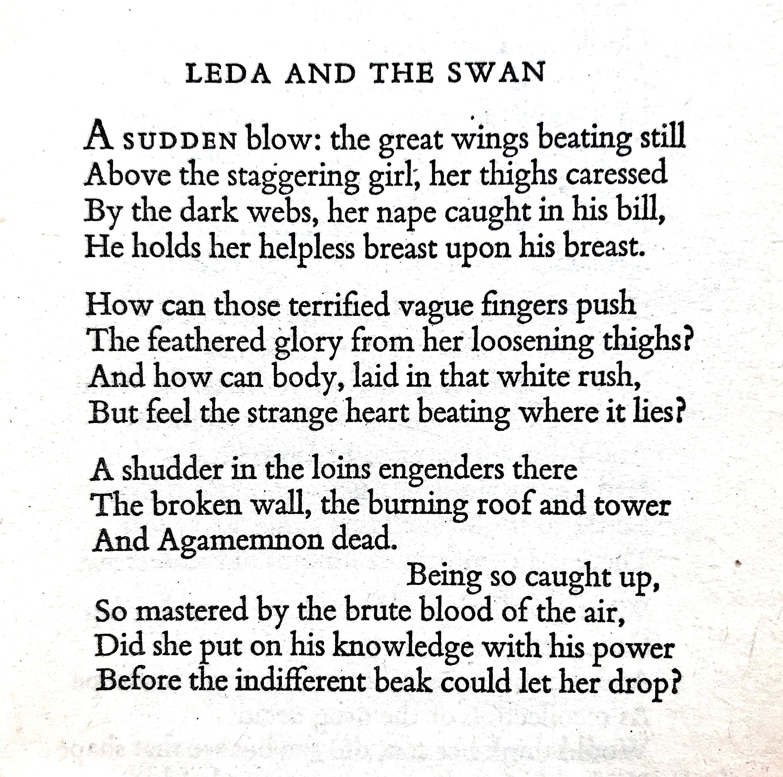 leda poem