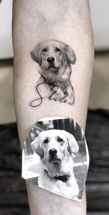 100+ Adorable Dog Tattoos That Will Melt Your Heart