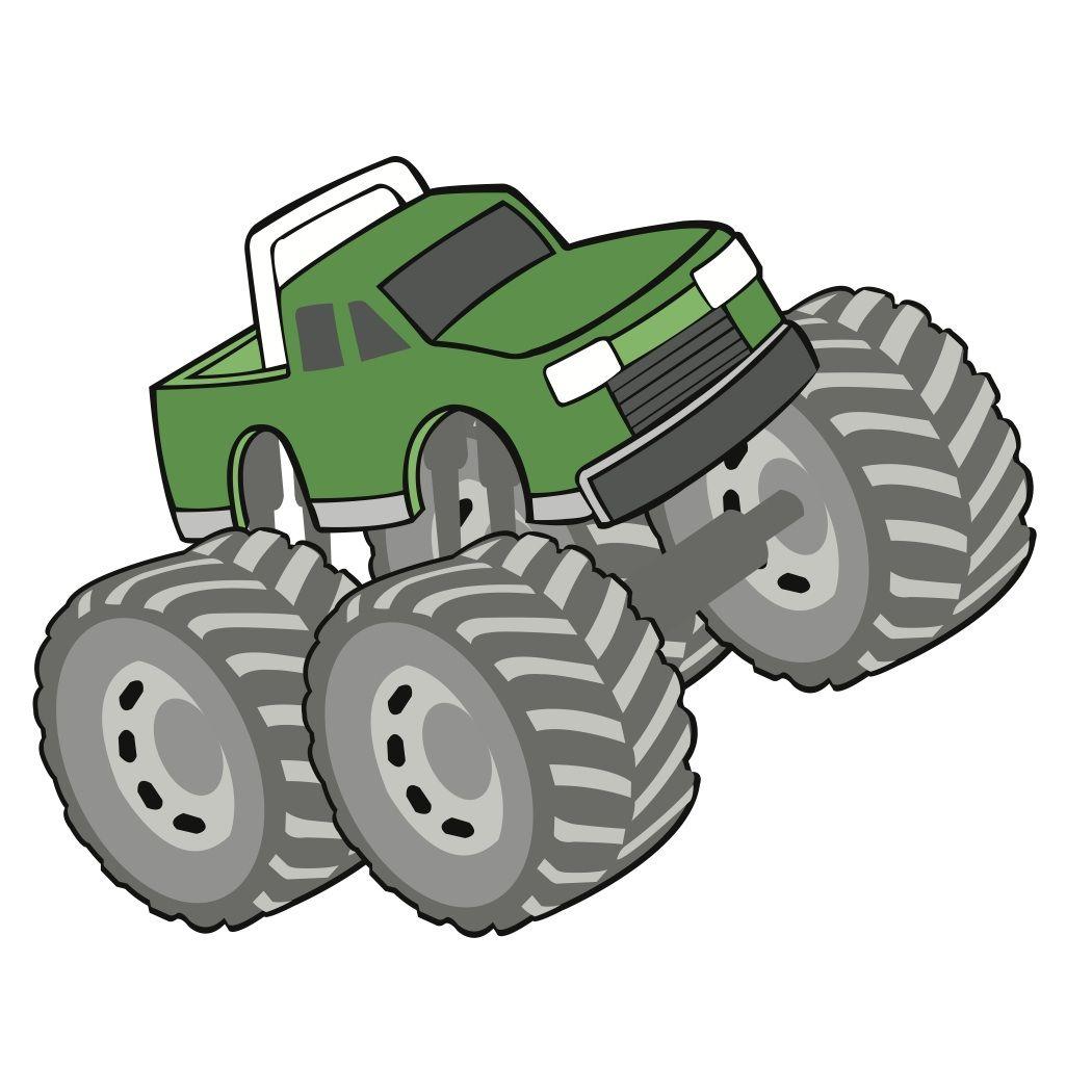 Download Free SVG File Download - Monster Truck - BeaOriginal ...