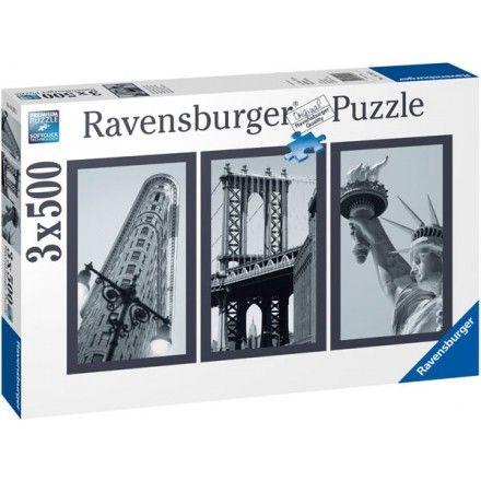16293 - Puzzle Impresiones de Nueva York, 3 puzzles de 500 piezas, Ravensburger. http://sinpuzzle.com/puzzle-500-piezas/1534-16293-puzzle-impresiones-de-nueva-york-3-puzzles-de-500-piezas-ravensburger.html