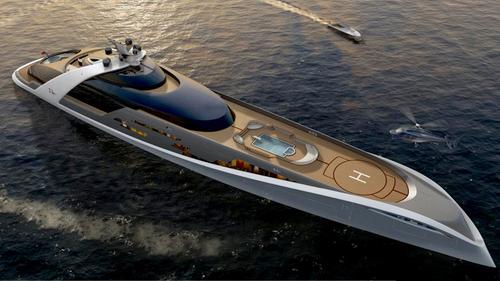 Luxury Yachts : 7Cs Superyacht #mega yacht  #luxury -  boat,  #modern