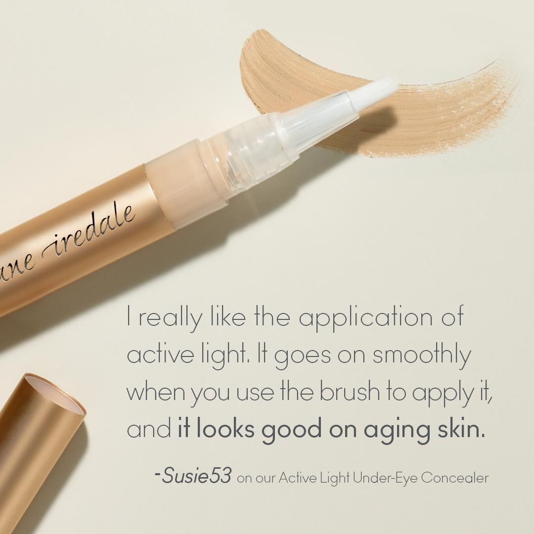 When you need an under-eye concealer for aging skin, grab Active-Light Under-Eye Concealer