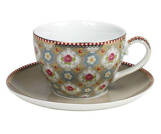 Xícara para chá com pires pip studio carino - 280ml