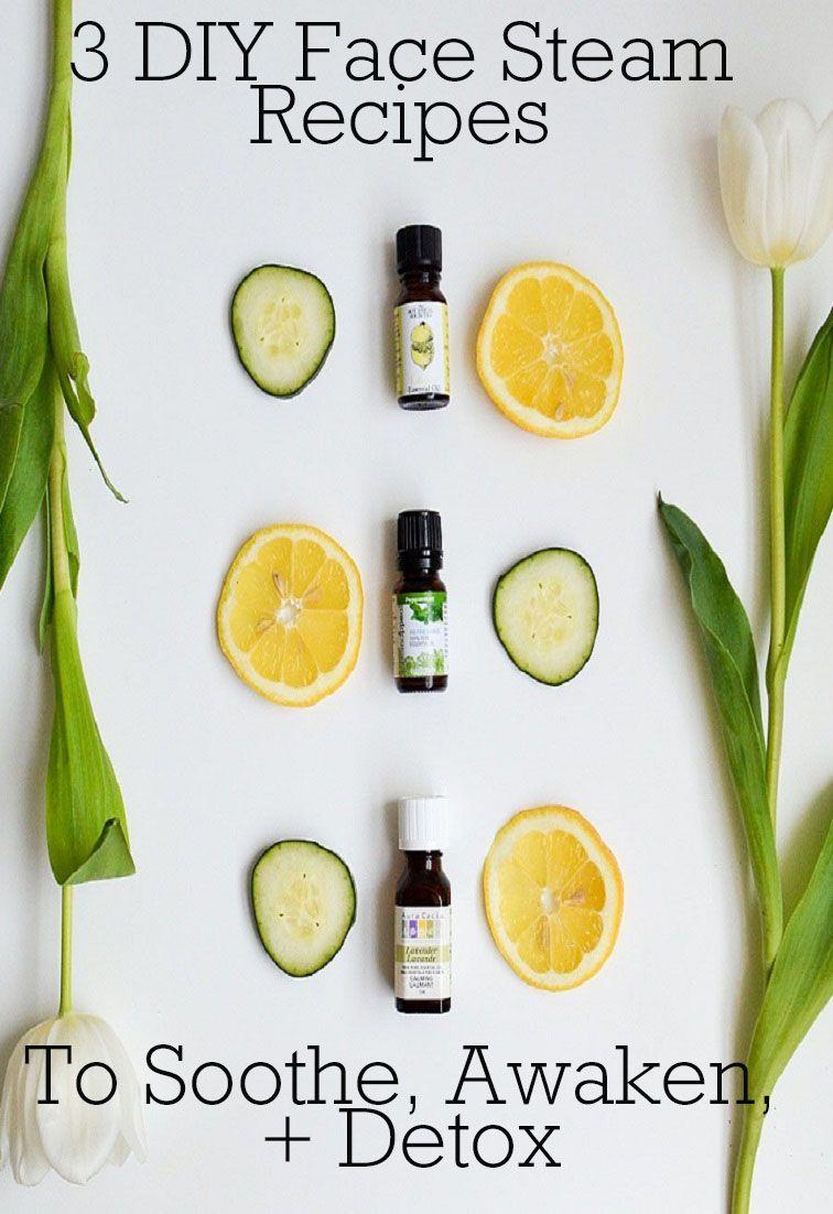 3 diy face steam recipes to soothe awaken detox skin care 3 easy diy recipes to give yourself an at home facial solutioingenieria Images