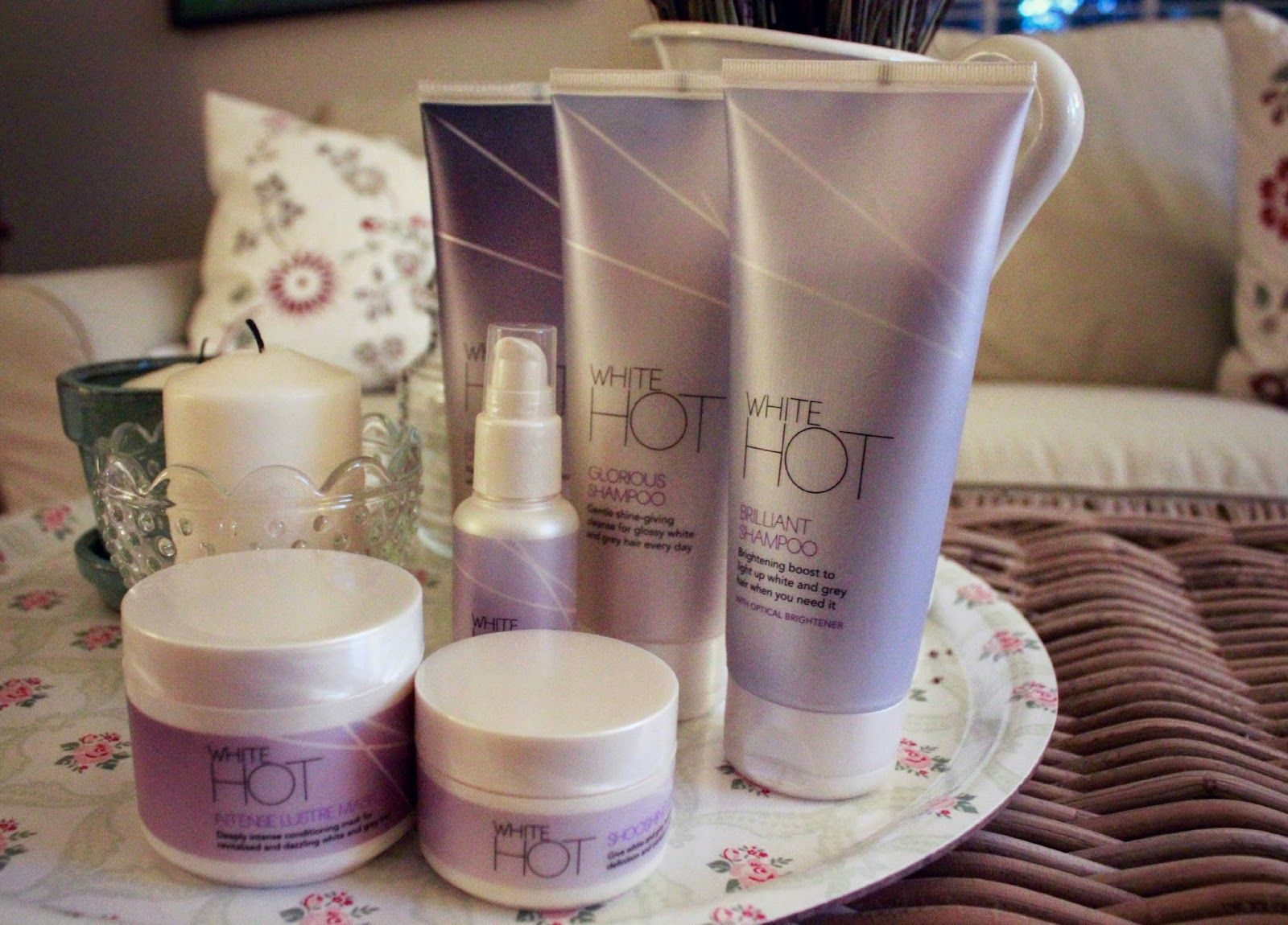 How Bourgeois: White Hot Hair Products, I'm in LOVE!