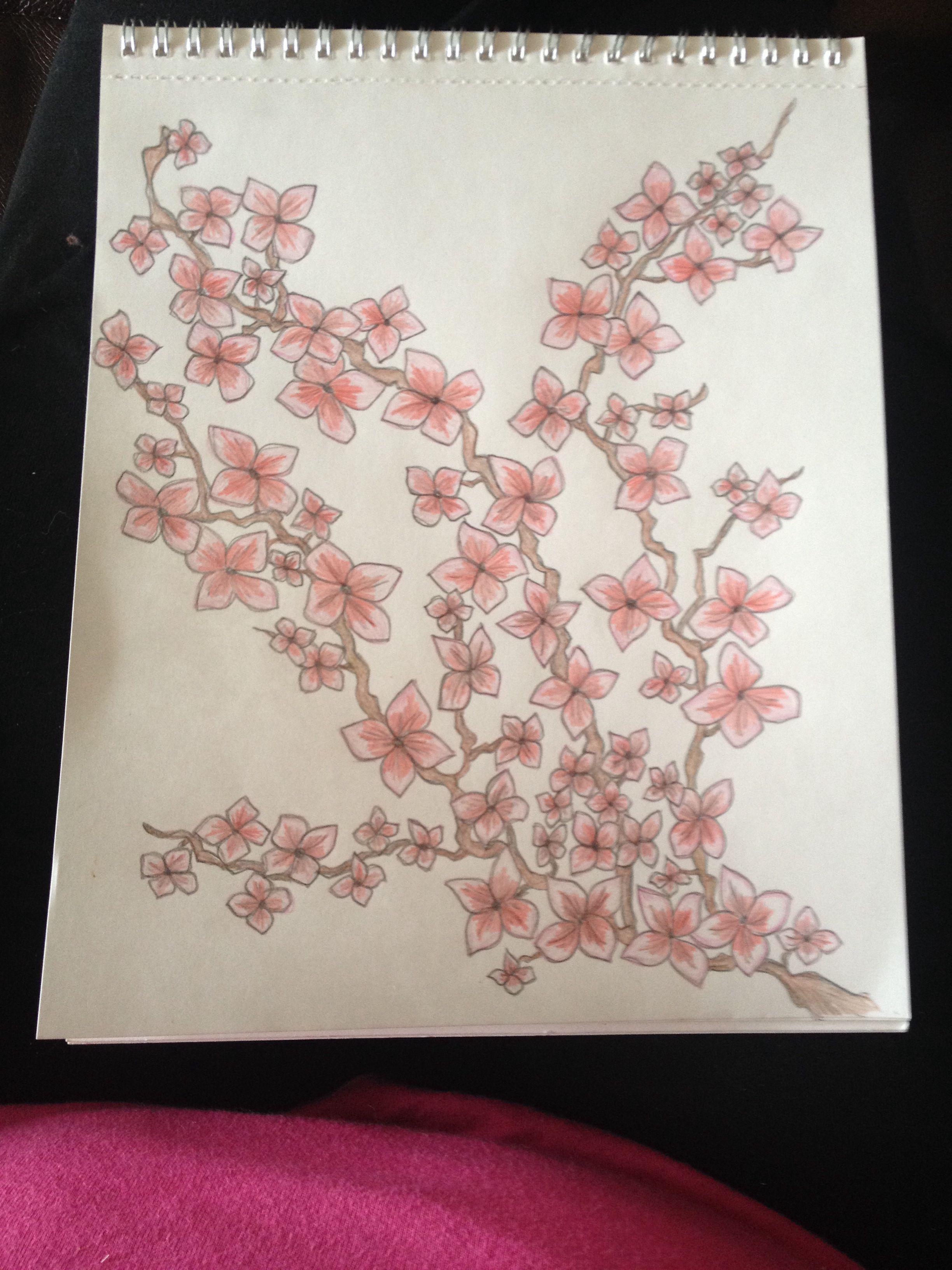 Cherry blossoms, my original design
