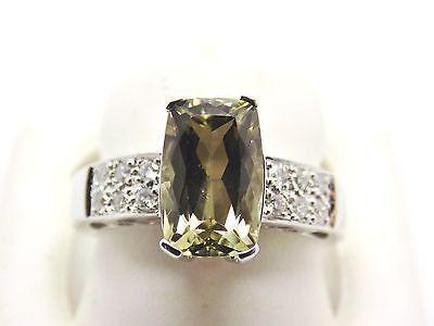 3.35 Ct Zultanite® .21 Ct. Diamond Ring 14k Solid Gold Rare Natural Sz 7 TR4406
