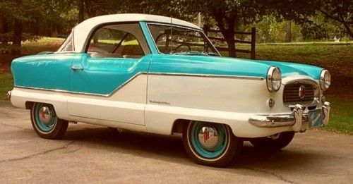 1960 Nash Metropolitan...just the right color for me