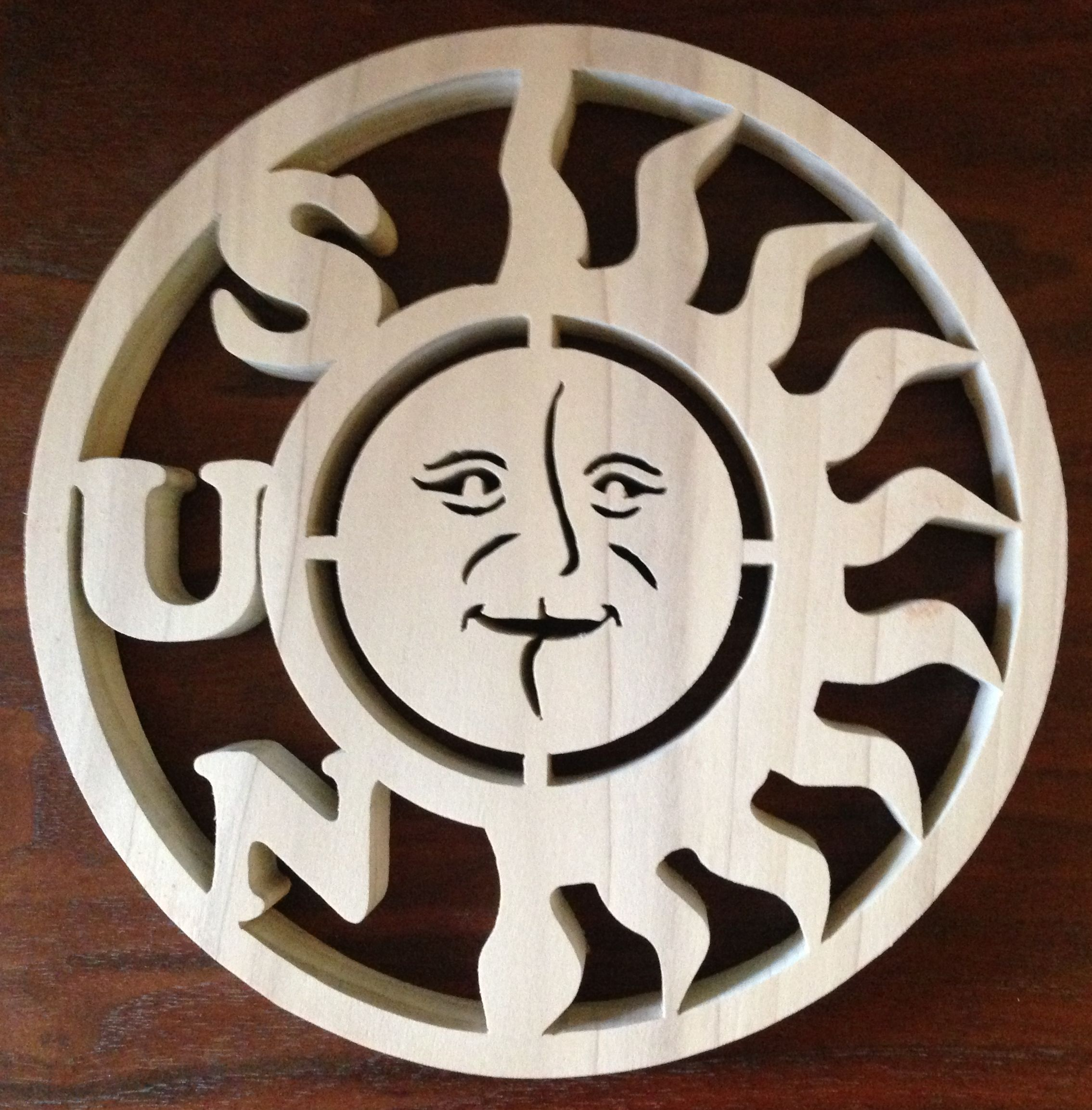 The Sun, pattern by Ratilal.