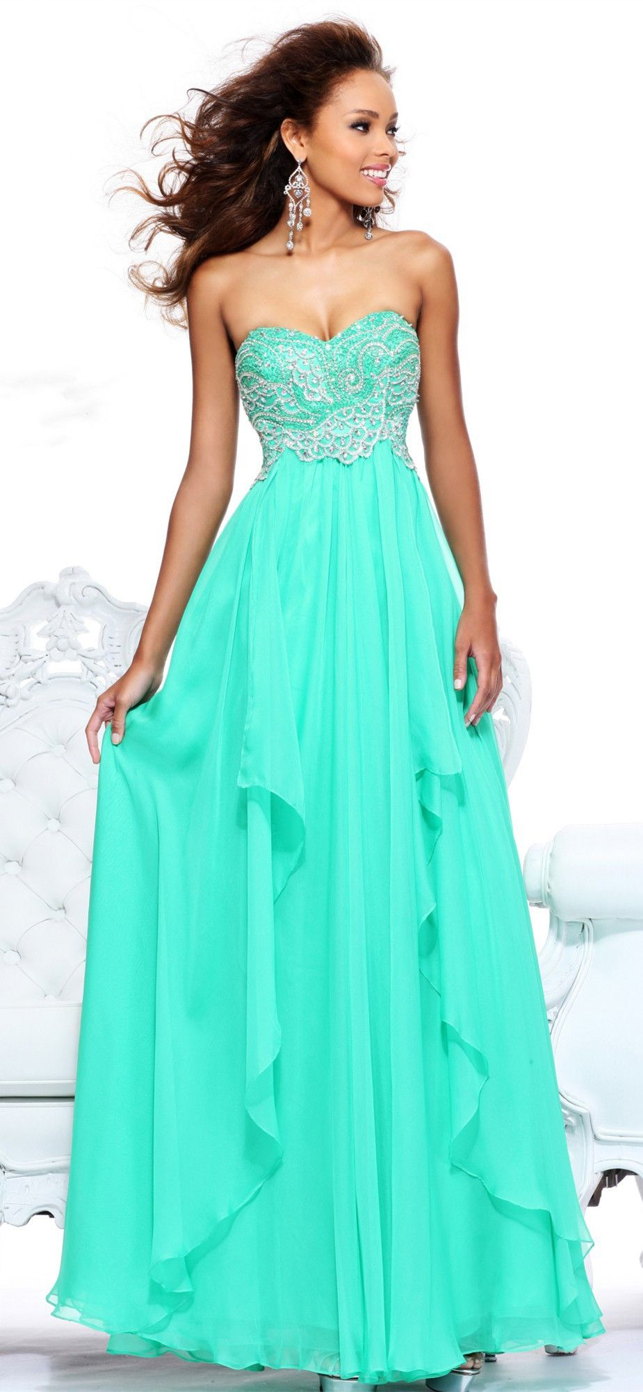 Damas dresses teal xv pinterest teal prom and dress prom