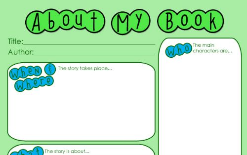 Keep Your Kids Reading with This Book Report Printable Schooling