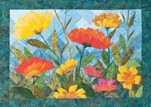 Flower applique quilt patterns yahoo image search results art