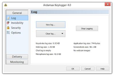 Tools :: #Windows #Keylogger #RATArdamax Keylogger