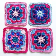 Anleitung Granny Square Häkeln Granny Squares Squares And Crochet