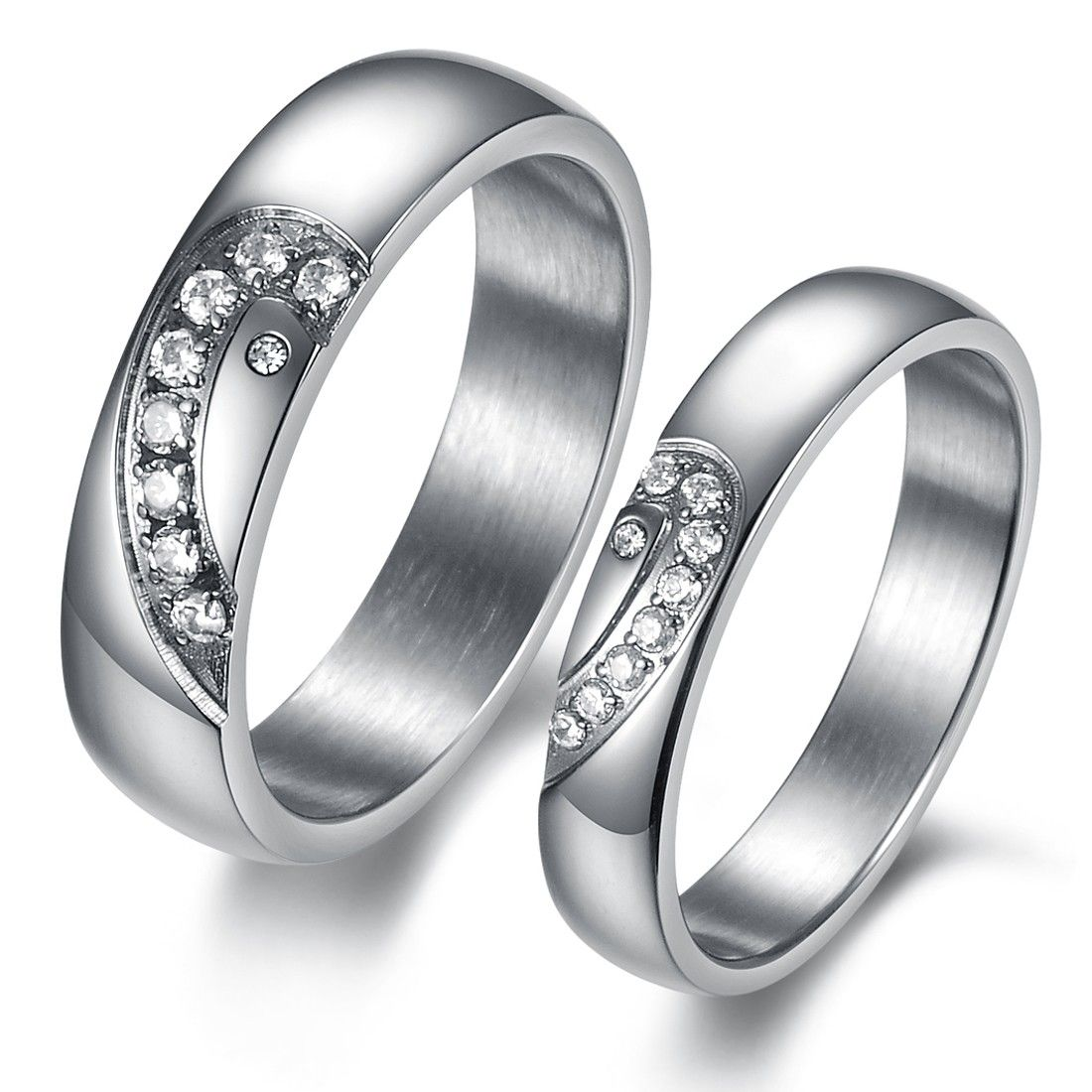His And Hers Wedding Band Sets Wedding Ideas Blog