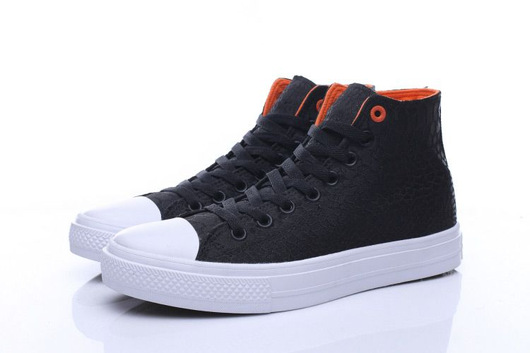 b8453e57bd26 Converse Chuck Taylor All Star II Black Snake Print High Tops Canvas Shoes   converse  shoes