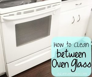 Her simple trick for cleaning in between the glass will make your her simple trick for cleaning in between the glass will make your glass oven door sparkle again planetlyrics Image collections