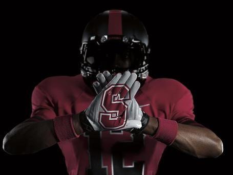 Stanford football uniforms
