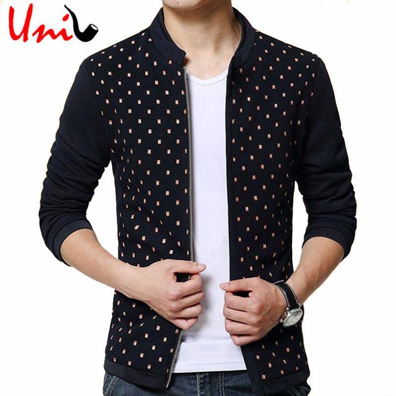 e8340c328 Uni-Splendor 2016 New Brand Men Printed Fashion Jacket Classic ...
