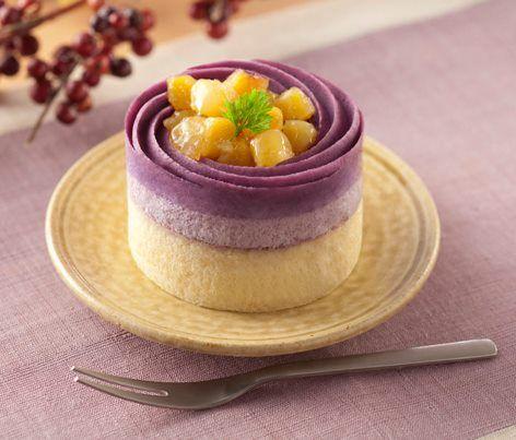Yam Cake | お芋のケーキ | LAWSON ♥ Dessert | petit fours