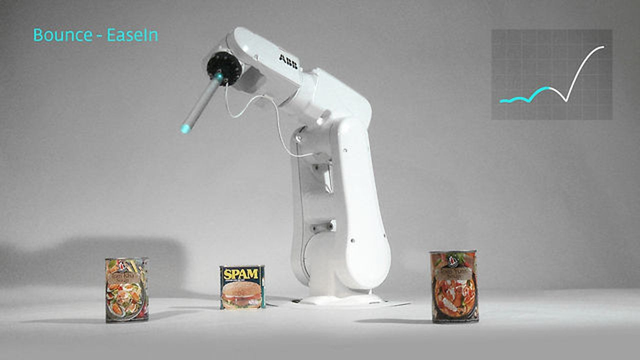 MESO: Real-Time Robotic Motion Library on Vimeo | Robots in