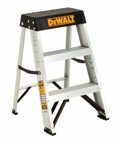 Dewalt Dxl2010 02 2 Feet Aluminum Stepladder Type Ia With 300 Pound Duty Rating 2 Feet With Images Dewalt Dewalt Power Tools Step Ladders