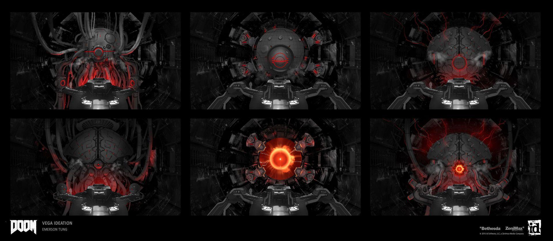 Artstation Doom Vega Emerson Tung