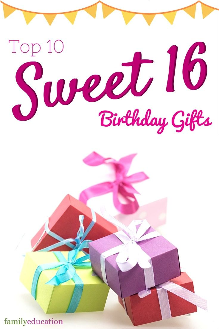 Sweet 16 Birthday Gift Ideas B Day Gifts Sweet 16 Gifts 16th
