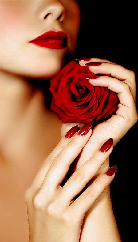 LINDAS ROSAS NATURAIS | Красные губы, Красные розы и Идеи ...
