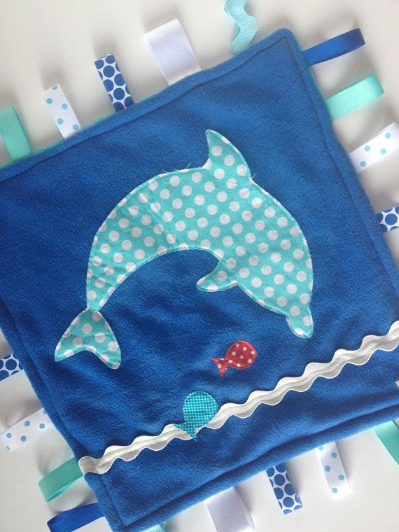 dolphin for baby quilt