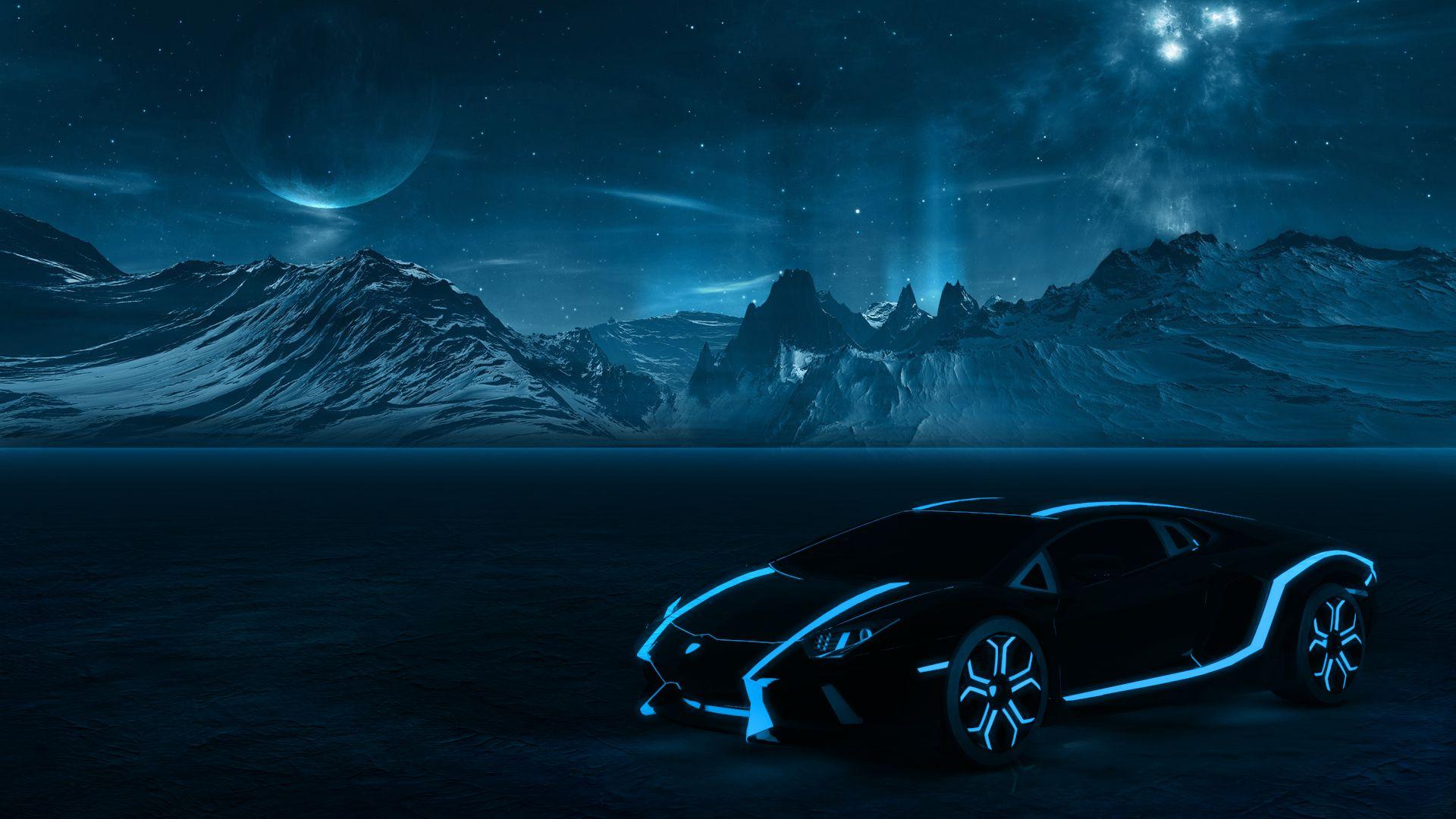 Lamborghini Aventador Sky Blue Black Lamborghini Wallpaper Blue